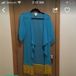 LuLaRoe BNWT Monroe kimono